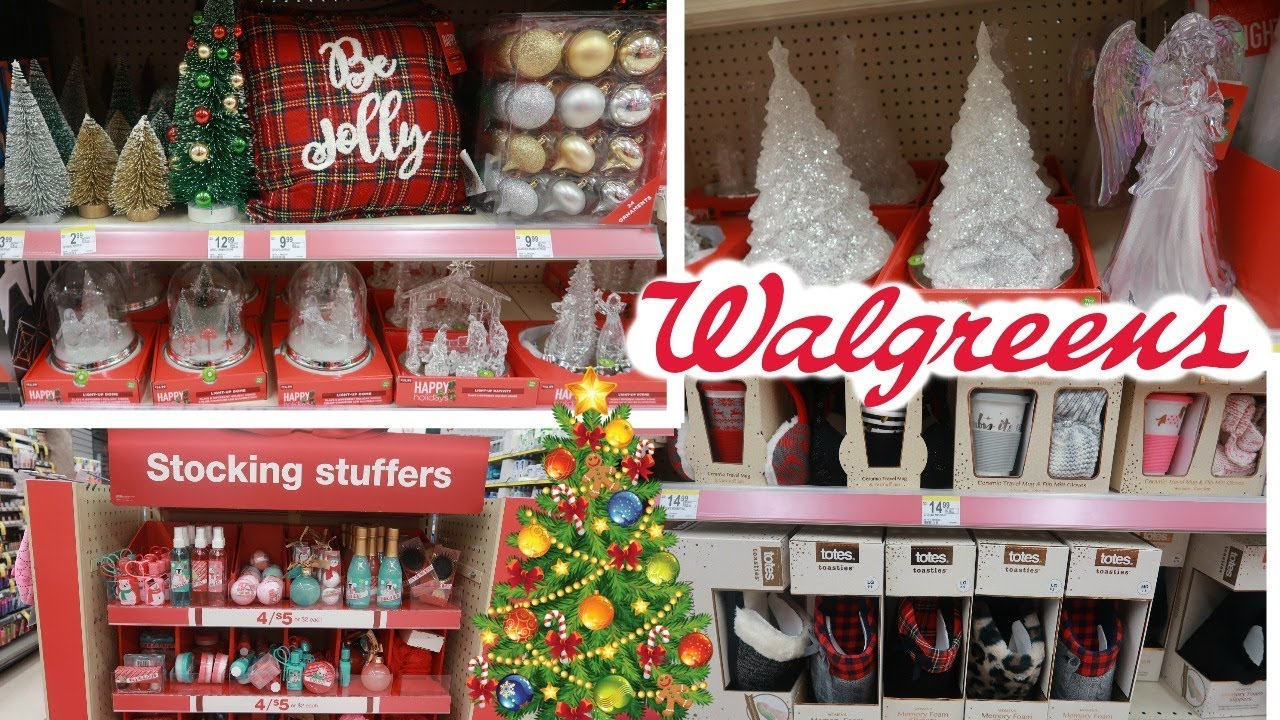 WALGREENS CHRISTMAS DECOR & MORE