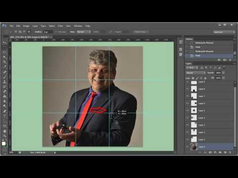 Как разрезать картинку в Фотошоп и разместить её в Инстаграм 1часть