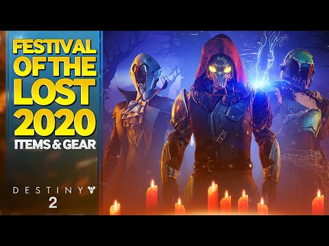 Destiny 2020 Halloween Destiny 2 Festival of the Lost 2020 Items & Gear   YouTube