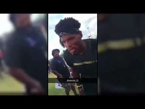 CAM NEWTON ALMOST FIGHTS TEENAGER AT FOOTBALL CAMP