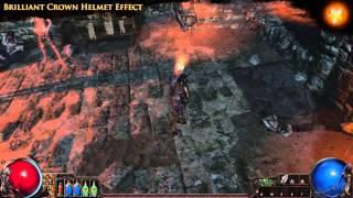 Path of Exile - Brilliant Crown Helmet Effect