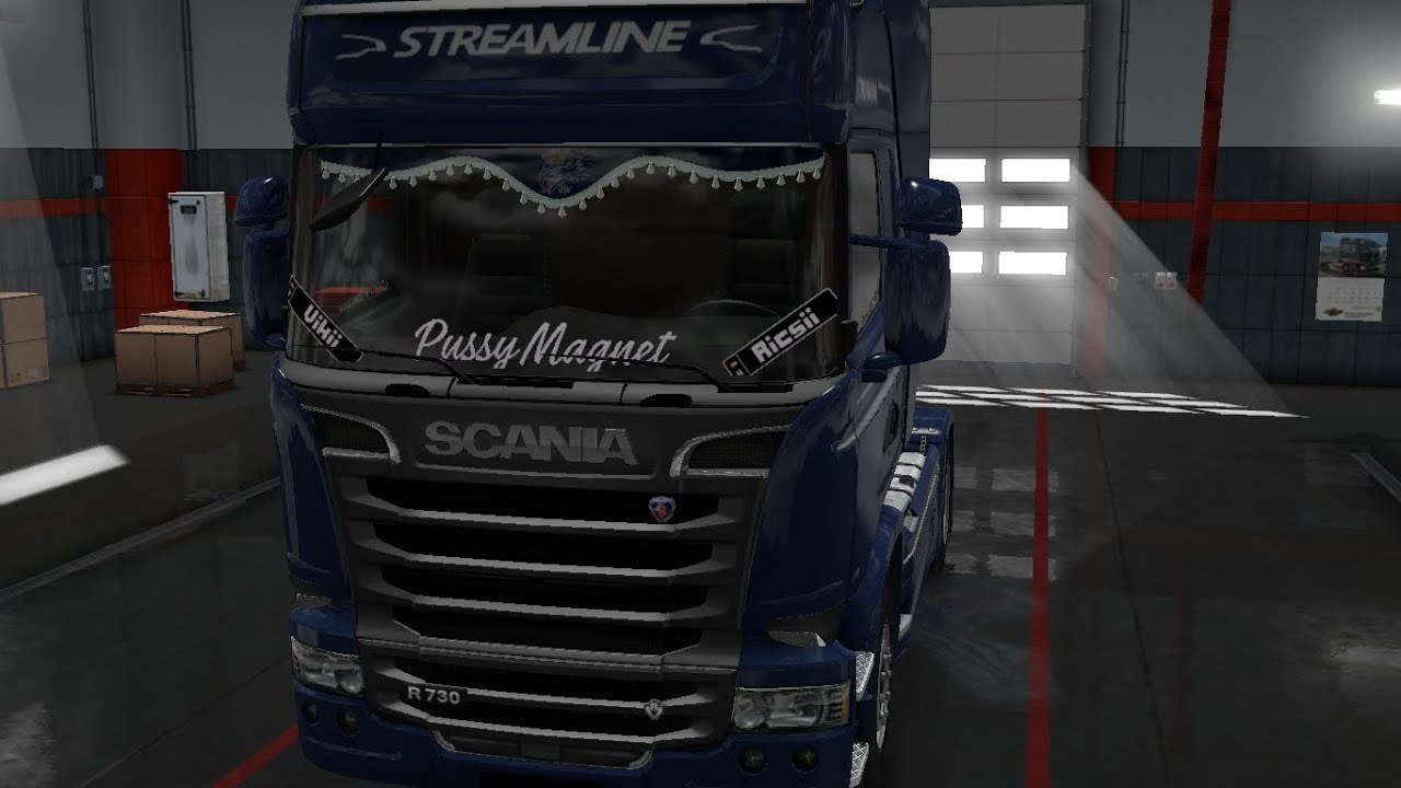 Stickers Window Ets2