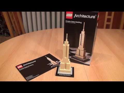 Test LEGO Empire State Building (LEGO Architecture Set 21002)