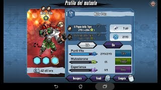 Mutants: Genetic Gladiators Breeding video (Mister T-ger - Beast # Mister T-gre - Belva)