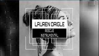 Download Lauren Daigle  Rescue  Instrumental Track with Lyrics MP3