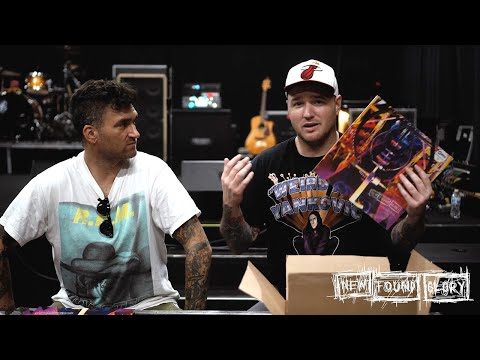 New Found Glory Unbox Vinyl & CD Versions Of Their New Album