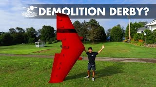 Airplane Demolition Derby!?💥😱