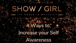How to be More Confident - Start at the beginning - 4 ways to Increase Self Awareness #Confidence