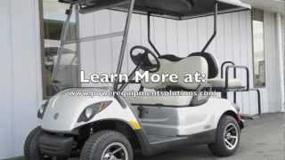 2013 Yamaha DRIVE Street Ready PTV EFI Gas Golf Cart Moonstone