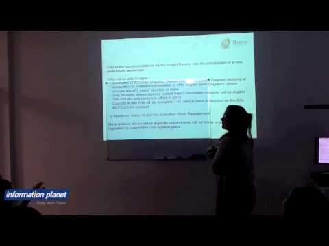Visa Seminar April 2012 Information Planet Australia