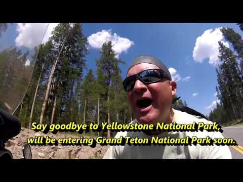 Campsite tour, Travel, Campsite tour, Yellowstone to Grand Teton (Trip 3 Vid 23) United States