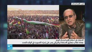 قاسم سليماني في كردستان لإقناع الأكراد بإلغاء الاستفتاء