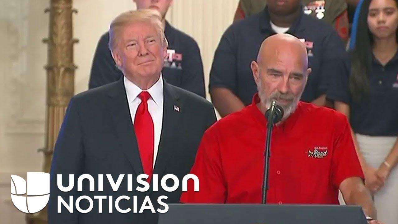 El presidente Trump firma una orden ejecutiva sobre trabajo