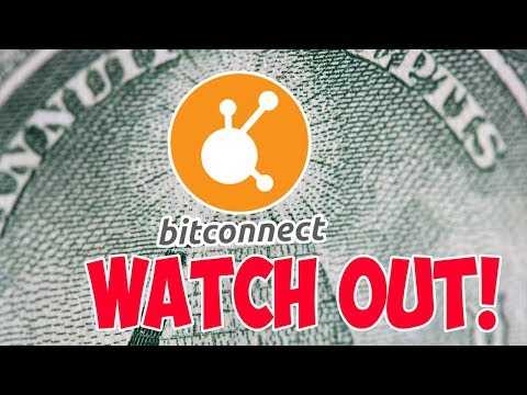 BITCONNECT - PLEASE WATCH OUT FOR THIS SCHEME!!