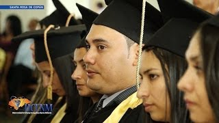Graduación UCENM Santa Rosa de Copán Julio, 28 de Junio de 2014