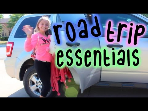 Road Trip Essentials  What I Pack  Collab