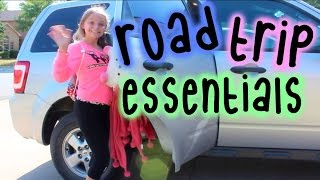 Road Trip Essentials + What I Pack // Collab