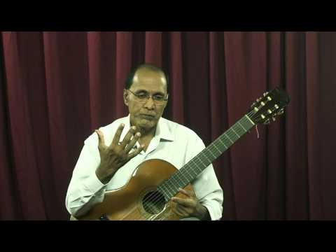Classical Guitar Lesson Part I By Amaranath Ranatunga