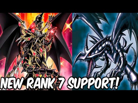 New Red-Eyes Support?! New Rank 7 Dragon Support!