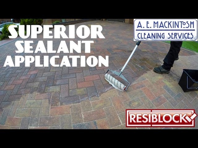 How To Ly Resiblock Superior Sealant