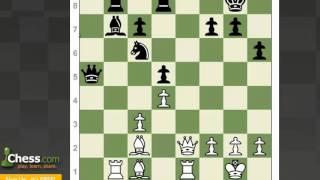 Chess Tactics: Back Rank Checkmate