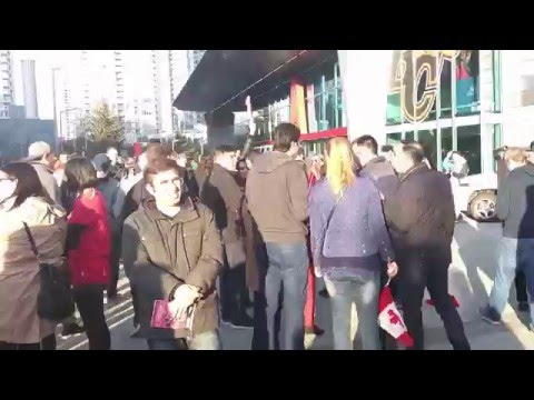 Mexico vs. Canada CONCACAF 2018 World Cup Qualifying Match  - Outside BC Place - Video 4