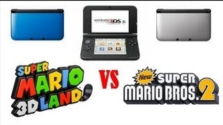 New Super Mario Bros 2 VS Super Mario 3D Land . Análisis Épico