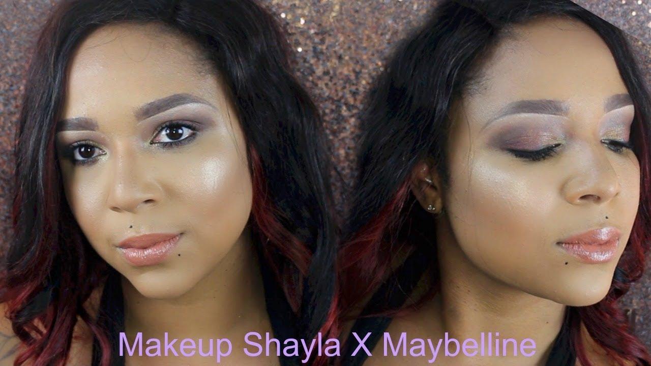 4f126a32a93 MaybellineXShayla | City mini palette & Colossal Big Shot Mascara ...