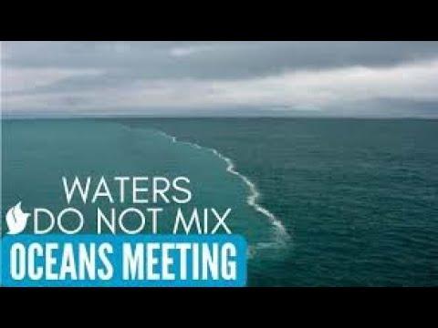 Indian ocean meets Atlantic ocean