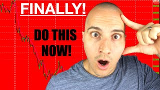 The Stock Market is Finally Falling! Do This Now!