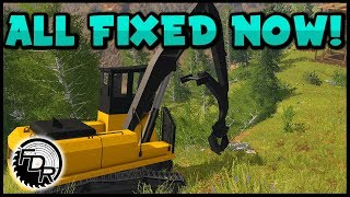 Repaired Dangler | Farming Simulator 2017 | Logging & Forestry #196