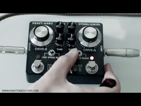 THE DUELLIST - DUAL OVERDRIVE PEDAL