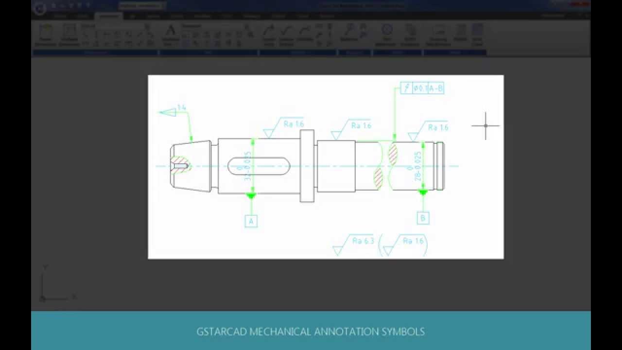 Gstarcad mechanical 2015 demos symbol youtube gstarcad mechanical 2015 demos symbol buycottarizona Images