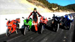Video: 600cc Supersport track shootout