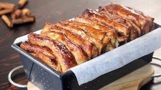 Pull Apart Cinnamon Bread Recipe  How Tasty Channel