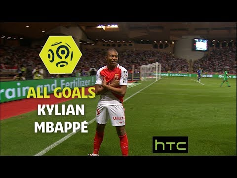 All goals Kylian Mbappé - AS Monaco 2016-17 - Ligue 1