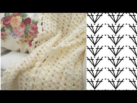 Вязание крючком ✄ Плед