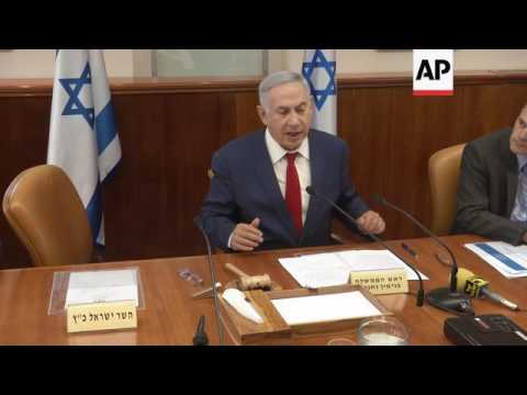 Israel PM with French FM, on UNESCO and Iran