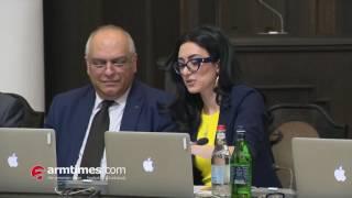Կառավարությունում ծափերով հրաժեշտ են տվել պաշտոնից ազատված Արփինե Հովհաննիսյանին