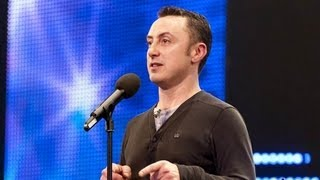 Organist Graham Blackledge La Bamba - Britain's Got Talent 2012 audition - UK version
