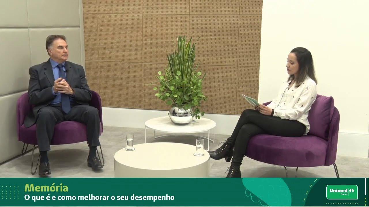 Memória: O que é e como melhorar o seu desempenho - Webinar Unimed Dr. Luiz Antonio Sá