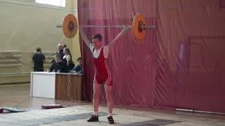Ксенофонтов Матвей, 14 лет, с в  46 Рывок 50 кг 2 подход