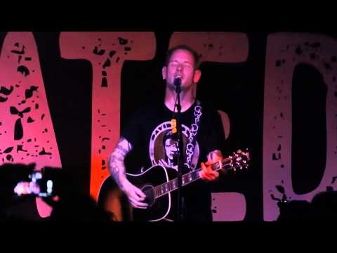 Corey Taylor Wicked Game Turf Club Minneapolis MN 7122015 Chris Isaak