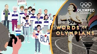 Why the support of family was key to Bonnie Blair's Olympic success   Words of Olympians