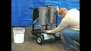 Gearing metering pump