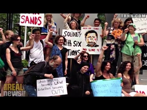 Week of Enbridge Tar Sands Actions Launch Idle No More's Sovereignty Summer
