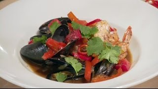 Singapore Black Pepper Seafood Stew
