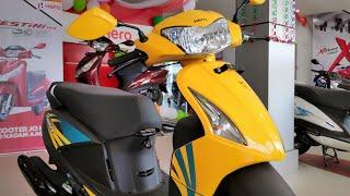 Hero Pleasure IBS || Glossy Yellow || Best VFM Ladies/Unisex Scooter?? Full Review