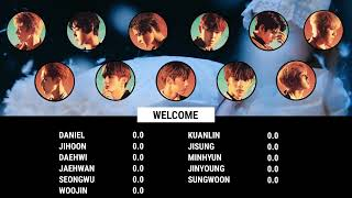 [Re] How Would Wanna One (워너원) sing 'Welcome'