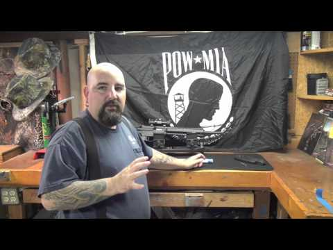 how to remove the barrel on a m&p AR 15-22 with the yankee cowboy